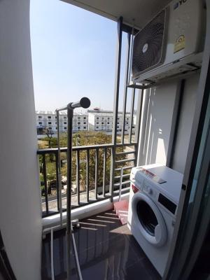For RentCondoBang kae, Phetkasem : C83 Condo for rent (* with washing machine *) The Niche ID Bangkae Phase 2 (with water purifier, size 28 sq m, building C, 5th floor)