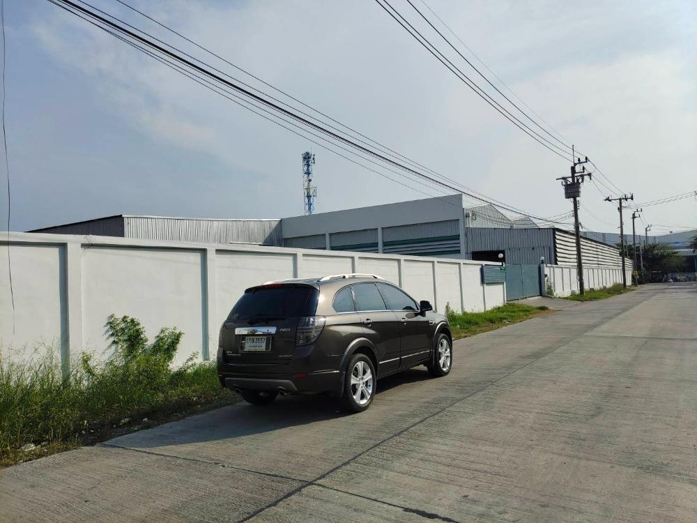 For SaleFactorySamrong, Samut Prakan : Factory building / warehouse for sale, area 5 rai 43 square wa, area 4,800 sq m, floor loading 3-5 tons / sq m, 3-phase electricity, near Bang Pu industrial estate, Old Sukhumvit Road - Bang Tamru