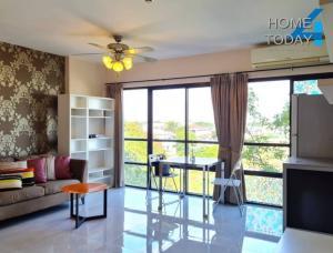 For SaleCondoLadkrabang, Suwannaphum Airport : Urgent sale, Condo Park Village On Nut Suvarnabhumi, beautiful room, size 35 square meters