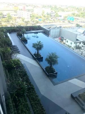 For RentCondoBang kae, Phetkasem : NC-R326 🌈 For rent, The president Petchkasem-Bang Khae, 8th floor, 10,000 baht / month, size 35 sq.m., in the room, 1 bedroom, 1 living room, 1 bathroom, 1 kitchen and balcony, complete electrical appliances 📍 next to The Mall Bang Khae 📍 Lak Song MRT Sta