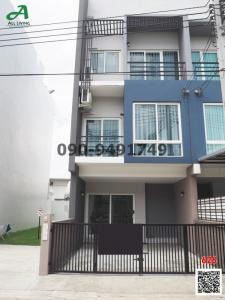 For RentTownhouseNawamin, Ramindra : Rent 3-storey townhome, Greenwich Ramintra, modern style, next to Ramindra Road