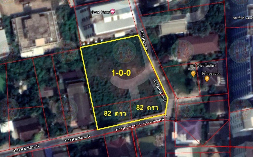 For SaleLandNakhon Pathom, Phutthamonthon, Salaya : Land for sale 1 rai, Soi Song Phon 3, near Silpakorn University, Nakhon Pathom.