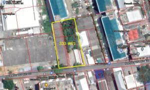 For SaleLandLadprao101, The Mall Bang Kapi : Sale of land with buildings, 333 square wa, Ladprao 101, Soi 38