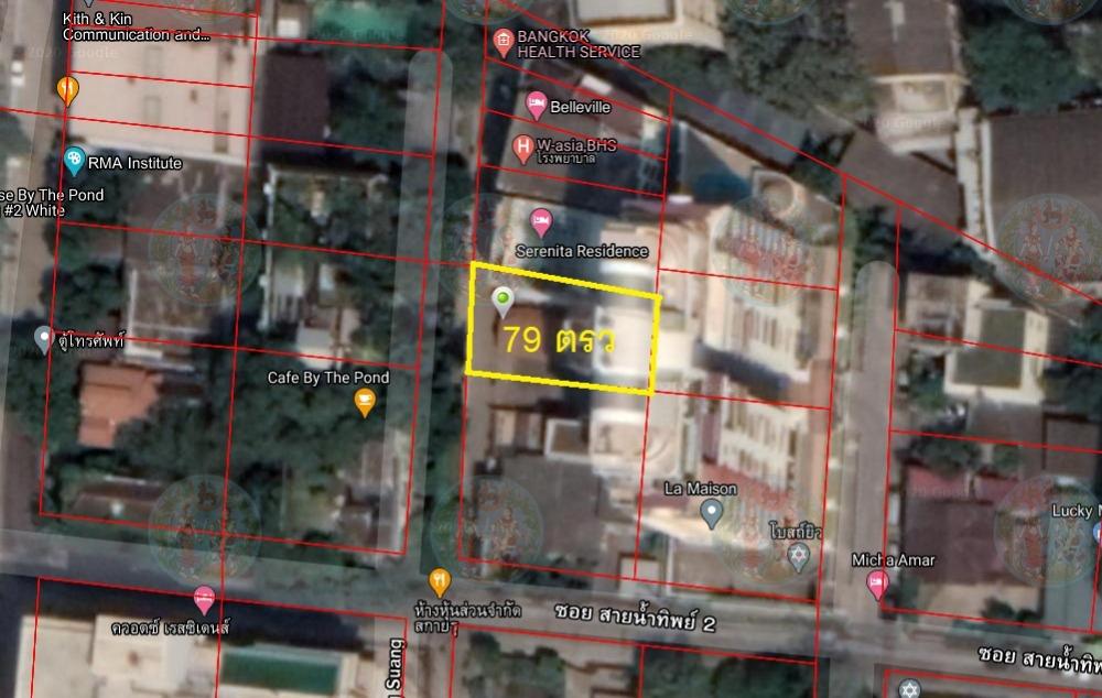 For SaleLandKhlongtoei, Kluaynamthai : Land for sale 79 square wah, Soi Sukhumvit 22