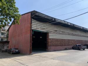 For RentWarehouseRama3 (Riverside),Satupadit : RK031 Warehouse for rent, area 600 square meters, Rama 3 Soi 12, suitable for distribution center, large storage