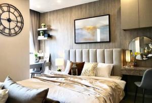 For RentCondoSukhumvit, Asoke, Thonglor : 💥 ให้เช่าห้องสวยมาก ชั้นสูง ต่อรองราคาได้ วิวสวยมาก คอนโด Ashton Asoke 1 ห้องนอน ใกล้ BTS อโศก พร้อมเข้าอยู่ได้เลย