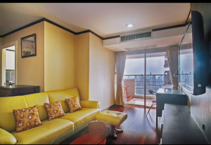 For RentCondoSukhumvit, Asoke, Thonglor : M3206-Condo for rent, The Waterford Diamond Tower, Soi Sukhumvit 30/1, near BTS Phrom Phong, beautiful room, complete furniture and electrical appliances. Ready to move in ++