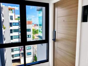 For RentCondoBangna, Lasalle, Bearing : Pause Sukhumvit 103   Corner Room   7 FL  2-Side View   Furnished & Washer   BTS UdomSuk