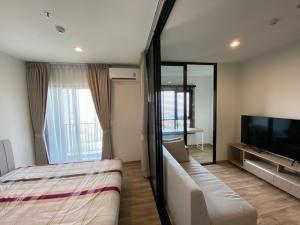 For RentCondoBangna, Lasalle, Bearing : For rent, Niche Mono, Sukhumvit, Bearing, 33rd floor, city view, very beautiful 😍🔥🔥