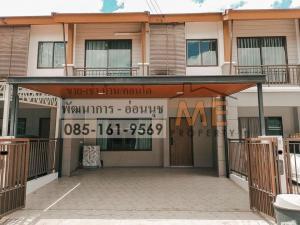 For SaleTownhousePattanakan, Srinakarin : Urgent sale, new beautiful townhouse, built-in, beautiful, convenient transportation, near BTS On Nut (TA27-21).