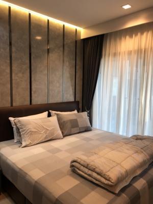 เช่าคอนโดพระราม 9 เพชรบุรีตัดใหม่ : For rent Life Asoke Rama9  1Bed ห้องใหม่ บิ้วอินทั้งห้อง ที่เก็บของเยอะ ต่อรองราคาได้ 095-249-7892 / 082-459-4297