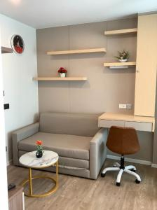 For RentCondoRangsit, Patumtani : Beautiful room with built-in Single bag Go in with Kave Town Space Condo
