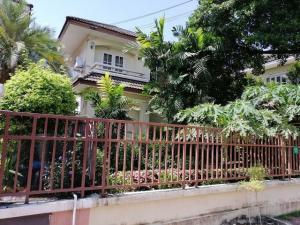 For RentHouseNakhon Pathom, Phutthamonthon, Salaya : RH473 House for rent, 3 bedrooms, 2 bathrooms, Chaiyapruek 13, near Mahidol University, Salaya.