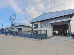 For RentFactorySamrong, Samut Prakan : Factory / Warehouse for rent (Purple area) Area 1 rai, usable area 850 sq m, office 2 floors, Thepharak Road, KM12, Klong Khut - Bang Tamru, rental price 100,000 baht / month