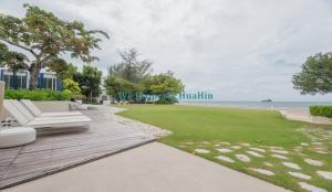 For SaleCondoHua Hin, Prachuap Khiri Khan, Pran Buri : Beach Front Condo For Sale