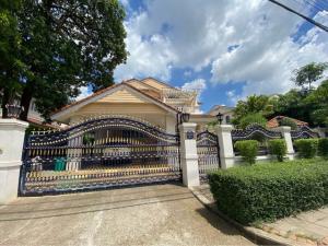 For RentHouseRamkhamhaeng,Min Buri, Romklao : RHT399 2 storey detached house for rent, Manthana Ring Road, Rama IX 1. Near Airport Link Ban Thap Chang