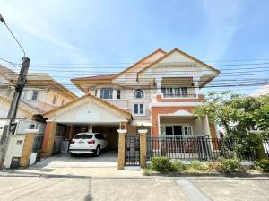 For RentHouseLadkrabang, Suwannaphum Airport : Single house for rent at Baan Krongthong Pavilion, near Suan Luang Rama IX, ICS, charter international school