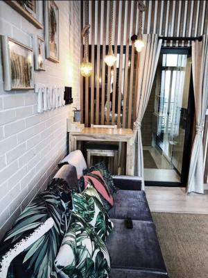 For RentCondoRattanathibet, Sanambinna : Code 10845 | 🔥🔥NEW Condo for rent, Knightsbridge Duplex Tiwanon size 38 sq m, 17th floor # near MRT Ministry of Public Health [[@Line: 0936269352]]