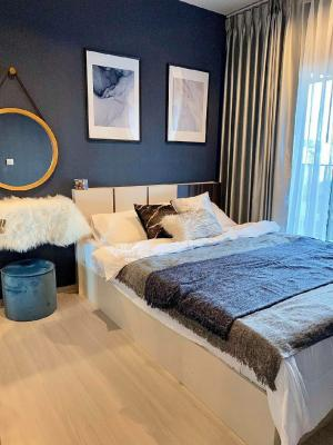 For RentCondoRama9, RCA, Petchaburi : 💕 For rent a very beautiful room, Life asoke rama9 Condo, negotiable price, size 36 sq m. Building A, luxurious decoration, ready to move in.