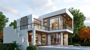 For SaleHouseHua Hin, Prachuap Khiri Khan, Pran Buri : Modern Luxury Pool Villa With Mountain View For Sale
