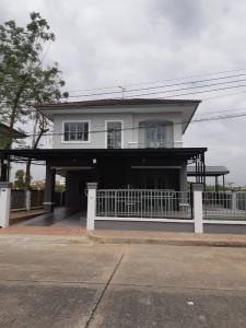 For SaleHouseRangsit, Patumtani : Beautiful house, ready to live in Parichat Village, very cheap, ready to move in, very convenient, near the market and expressway