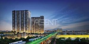 เช่าคอนโดสำโรง สมุทรปราการ : For Rent The Metropolis Samrong Interchange ( BTS Samrong)
