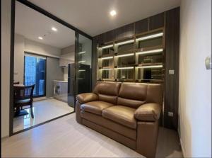 For RentCondoRama9, RCA, Petchaburi : For rent, Life Asoke Rama9 1 Bed, beautiful decoration, ready to bargain, 082-459-4297.