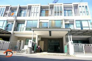 For SaleTownhouseKaset Nawamin,Ladplakao : 3-storey townhome for sale, Prime Village Agriculture - Nawamin