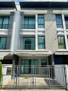 For SaleTownhouseRamkhamhaeng, Hua Mak : 3-storey townhome for sale in the middle of the city Rama 9-Ramkhamhaeng Soi Wat Thepleela for sale cheap at cost