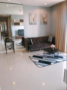 For RentCondoRama9, RCA, Petchaburi : HJ-0164 * 2 bedroom for rent Circle Phetchaburi 36 ready to move in, beautiful and cheapest in the project.