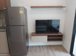 For RentCondoRangsit, Patumtani : Condo Kave Town Space @Bangkok University, Size 25 sq.m 1 Bed 2nd floor New Room, Fully furnished