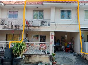Sale DownTownhouseMahachai Samut Sakhon : Sale down town house 2 floors 18 sq m. Village Panali 1 Bang Khun Thian-Chai Thale Road