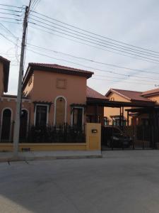 ขายบ้านอยุธยา สุพรรณบุรี : ขายบ้านแฝดสไตล์อิตาลี โครงการ Palazzetto วังน้อย อยุธยา