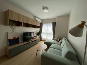 For RentCondoRama9, RCA, Petchaburi : Supalai Veranda Rama 9- 2 bed & 2 bath - floor 12 62.5 sq.m - Rent 25,000 THB