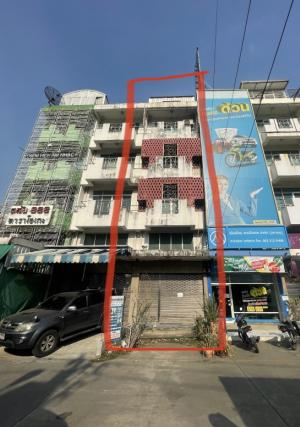 For SaleShophouseBang Sue, Wong Sawang : 4-storey commercial building for sale near Big C Wong Sawang.
