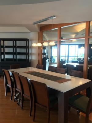For RentCondoWongwianyai, Charoennakor : Condo for rent, Tridhiti Marina 265 sqm, 3beds,4baths,newly decorated room, river view, 15th floor