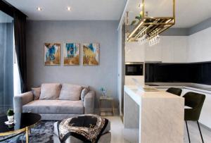 For RentCondoRama3 (Riverside),Satupadit : Beautiful room, ready to move in !! Canapaya Residences Rama 3