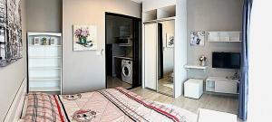 เช่าคอนโดพระราม 9 เพชรบุรีตัดใหม่ : 🔊 ห้องสวย กว้าง แบ่งเป็นสัดส่วน ตอบโจทย์ไลฟ์สไตล์คนเมือง ให้เช่าคอนโด Condolette Midst พระราม 9 ใกล้ MRT พระราม 9
