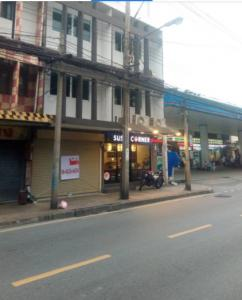 For RentShophouseRatchadapisek, Huaikwang, Suttisan : S123 4-storey commercial building for rent, 1 booth, Intamara Sutthisan, Huay Kwang, area 193 sq m, suitable for trading, office, restaurant, rental fee 35,000 baht