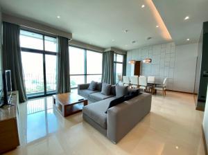 เช่าคอนโดพระราม 3 สาธุประดิษฐ์ : ให้เช่า Penthouse 3 ห้องนอน วิวเมือง-แม่น้ำเจ้าพระยา