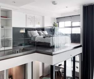 เช่าคอนโดพระราม 9 เพชรบุรีตัดใหม่ : 💕 ให้เช่า ห้องสวยมากๆ ถ่ายจากห้องจริง คอนโด Ideo new rama9 ห้อง Duplex ตกแต่งสวยงาม เข้าอยู่ได้เลย