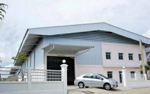 For RentWarehouseSamrong, Samut Prakan : Factory, warehouse, quality for rent, purple area, Phraeksa Road, near Bang Pu Industrial Estate, hotline 099-896-9474