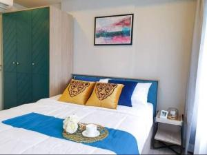 For RentCondoOnnut, Udomsuk : For rent, The Base Sukhumvit 50, near bts On Nut, fully furnished room, ready to move in.
