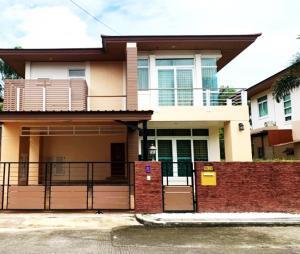 For RentHousePattaya, Bangsaen, Chonburi : 2 storey house for rent, the boulevard sriracha village (the boulevard sriracha)
