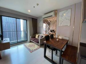 For RentCondoRama9, RCA, Petchaburi : Condo for rent: RHYTHM ASOKE 1, Room type 2 bedrooms, corner unit near MRT Rama 9: 300 m. • Airport Link Makkasan: 550 m. • Near Si Rat Expressway.