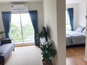 For RentCondoRattanathibet, Sanambinna : 🌊 New condo for rent Near the river 🌊 Lumpini Ville Phra Nang Klao - River View Room size 26 sq m.
