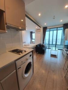 For RentCondoSiam Paragon ,Chulalongkorn,Samyan : (owner post) for rent, big room, 34 sqm, 23rd floor, north, beautiful view, complete electrical appliances, double bed