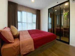 For RentCondoVipawadee, Don Mueang, Lak Si : Condo for rent, THE ORIGIN PHAHOL-SAPANMAI, 11th floor, size 27.14 sqm., Walk-in Closet style, complete appliances You can drag the luggage in.