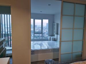 เช่าคอนโดบางซื่อ วงศ์สว่าง เตาปูน : ใกล้ MRT บางซ่อน กั้นกระจกห้องนอน
