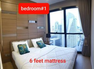 For RentCondoSukhumvit, Asoke, Thonglor : For rent - Ashton Asoke 2B 2B beautiful room, high floor, complete appliances, ready to move in 082-459-4297.